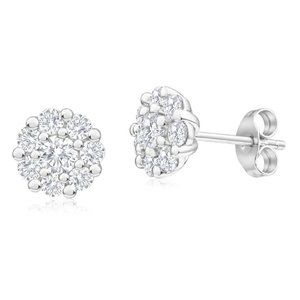 Jewelry - 4.80 Carats round cut diamonds women studs earring